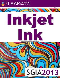 SGIA 2013 inkjet ink distributors manufacturers