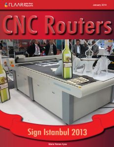 CNC Routers Sign Istanbul 2013