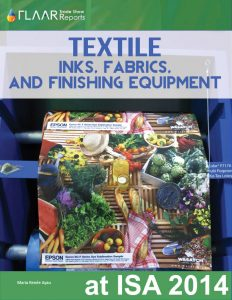ISA Textile Inks, Fabrics and Finishing Equipment