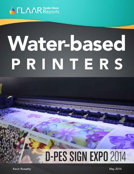 D-PES 2014 Water-based Printers Exhibitor List