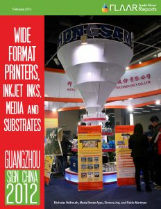 Sign China 2012, UV cured textile printer, flatbed cutters, inks media substrates, trade show, prepare for Guangzhou expo exhibitor list 2013