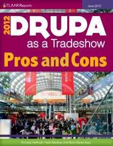 Drupa 2012 as a tradeshow, pros and cons