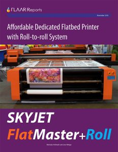 Full evaluation of SkyJet Sky Air-Ship FlatMaster+Roll, a UV inkjet printer for rigid and roll-to-roll substrates