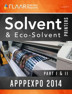 APPPEXPO 2014 Wide-format Solvent Printers, parts 1 – 2