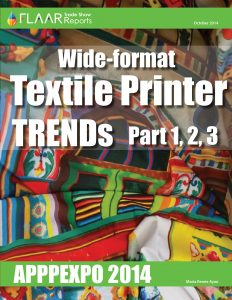 APPPEXPO 2014 Wide-format Textile Printer TRENDs, parts 1 – 3