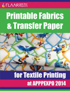 APPPEXPO 2014 Printable Fabrics & Transfer Paper for Textile Printing