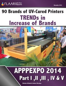 APPPEXPO 2014 Wide-format UV Printer TRENDs, parts 1 – 5