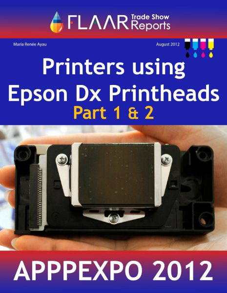 APPPEXPO 2012 Printers using Epson DX5 printheads, parts 1 – 2