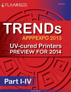 APPPEXPO 2013 Wide-format UV printer TRENDS, parts 1 – 4