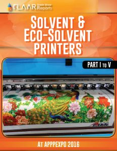 APPPEXPO 2016 Wide-format Solvent Printers, parts 1 – 5