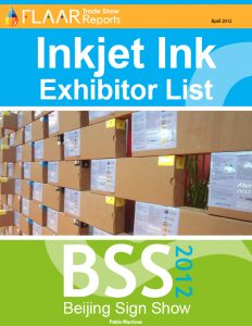 BSS Beijing Sign Show 2012 inkjet ink manufactures distributors