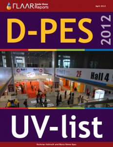D-PES 2012 wide format UV printers exhibitor list