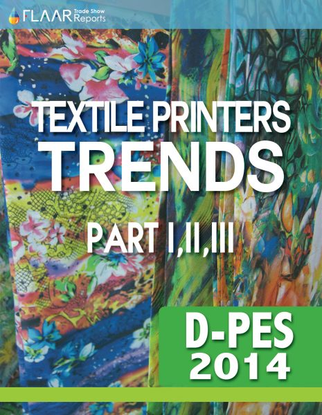 D-PES 2014 Wide-format Textile printer TRENDS, parts 1 – 3