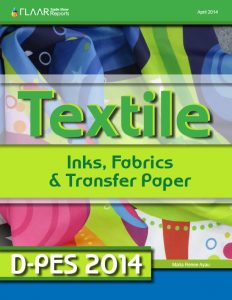 D-PES 2014 Textile Inks Fabrics Transfer Paper FLAAR Reports
