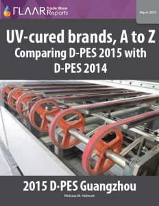 D-PES 2015 UV-Cured brands, A to Z