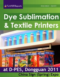 D-PES Dongguan 2011 Textile Printer TRENDs
