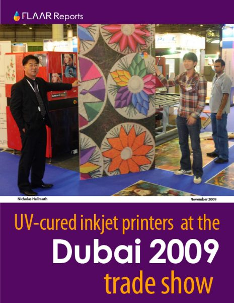 SGI Dubai 2009 UV Printer TRENDs