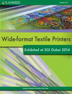 Wide-format Textile Printers Exhibited at SGI Dubai 2014