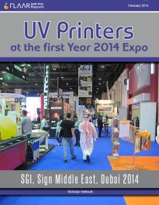 UV Printers at the First Year 2014 Expo