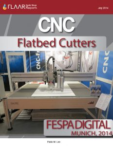 FESPA Digital Munich 2014 CNC Flatbed Cutters