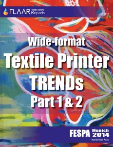 FESPA 2014 Wide-format Textile Printer TRENDs, parts 1 -2