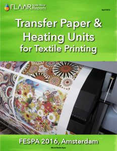 FESPA 2016 Amsterdam Transfer Paper & Heating Units for Textile Printing