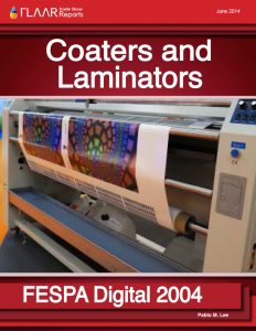 FESPA Digital 2014 Coaters and Laminators