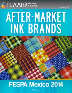 FESPA Mexico 2014 After-Market Ink Brands