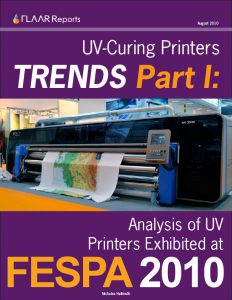 FESPA 2010 UV Printer TRENDs: Analysis of UV Printers