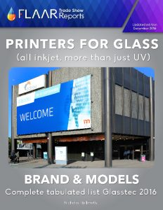 Glasstec 2016 Printers for Glass