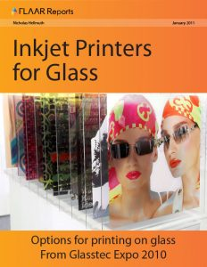 Glasstec 2010, inkjet printers for glass