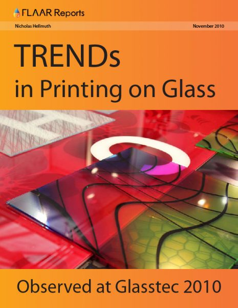 Glasstec 2010 Printing in Glass TRENDs