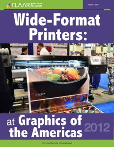 Graphics of the Americas 2012 Wide-Format-Printer