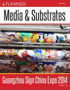 Guangzhou Sign China Expo 2014 distributor manufature media material substrate – exhibitor list FLAAR Report