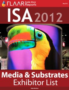 ISA 2012 media and substrate exhibitor list
