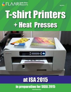 ISA 2015 in preparation for SGIA 2015 T-shirt Printers & Heat Presses