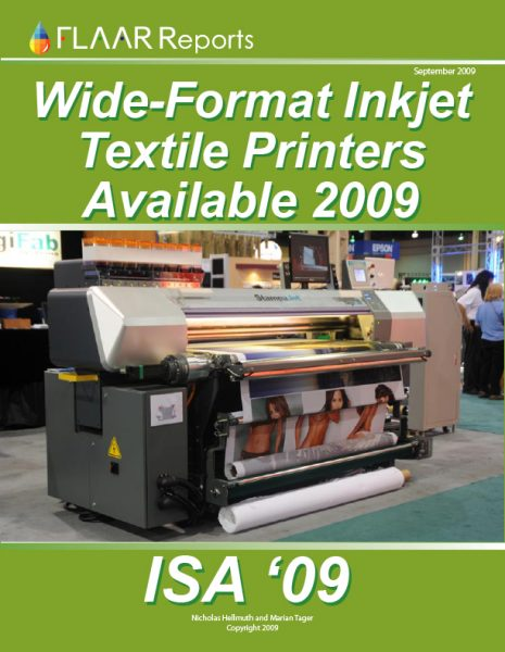 ISA 2009 Textile Printer TRENDs