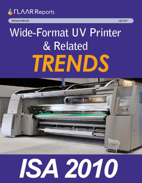 ISA 2010 UV Printer TRENDs