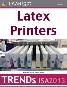 Wide-Format Latex Printer TRENDs at ISA 2013