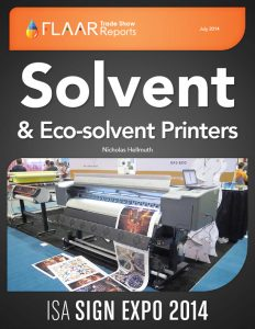 ISA Sign Expo 2014 Solvent & Eco-Solvent Printers