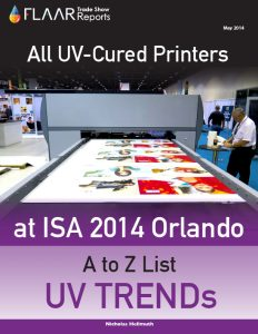 ISA 2014 All UV-Cured Printers