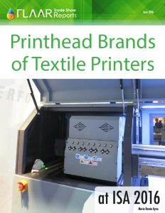 ISA 2016 Printhead Brands of Textile Printers