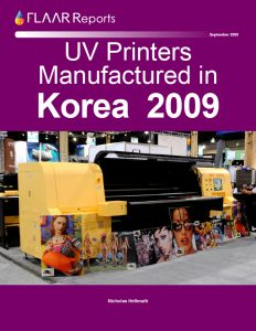 Korea 2009 UV Printers