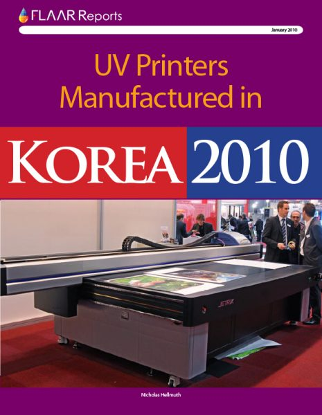 Korea 2010 UV Printers