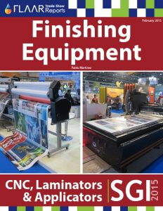 SGI 2015 Finishing Equipment