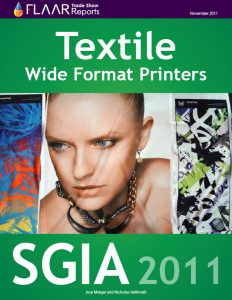 Textile Wide-Format printers at SGIA 2011