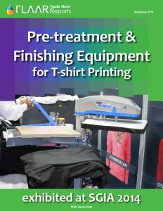 SGIA 2014 Pre-treatment & Finishing Equipment for T-shirt printing