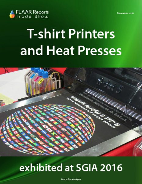 SGIA 2016 T-Shirt Printers and Heat Presses