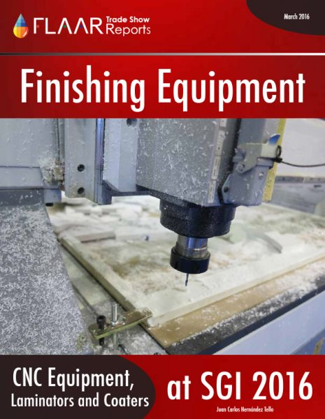 SGI Dubai 2016 Finishing Equipment
