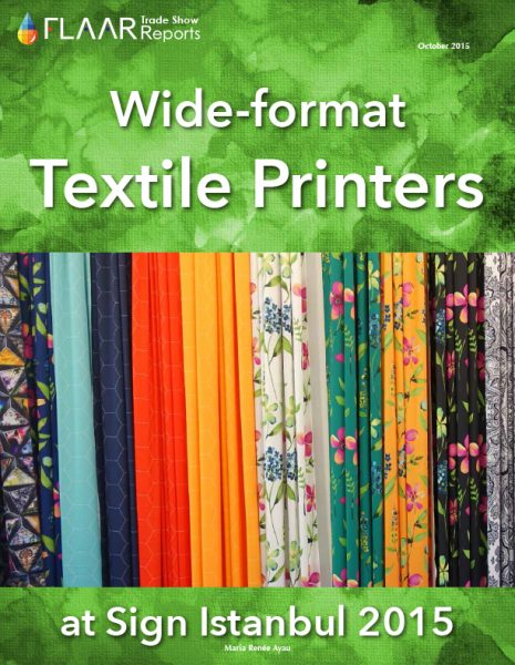Sign Istanbul 2015 Wide-format Textile Printers